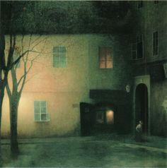 Schikaneder 1909 EveningInTýnskáLn