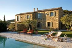 Le Mas de Foussargues is a beautiful mediterranean farmhouse available as a vacation rental in Provence, south of the picturesque hamlet of Uzès, France.