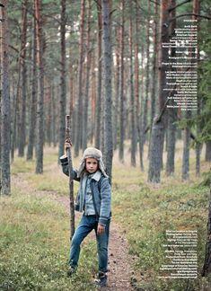 Boys fashion all by Armani  shot on location in Estonia by Katrina Tang