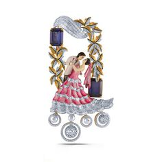 5 Designer Pendants trending this Wedding Season Antique Jewellery Designs, Fancy Jewellery, Gold Jewellery Design, Gold Jewelry, Henna Designs Feet, Necklace Drawing, Peacock Jewelry, Jewelry Design Drawing, Handmade Wire Jewelry