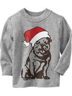 Santa Dog Graphic Tees for Baby | Old Navy