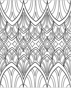 3-D Coloring Book - Abstractions, Dover Publications