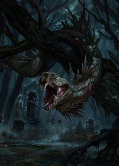Fantasy Monster, Monster Art, Alien Creatures, Fantasy Creatures, Creature Feature, Creature Design, Dark Fantasy Art, Fantasy Artwork, Angel Artwork