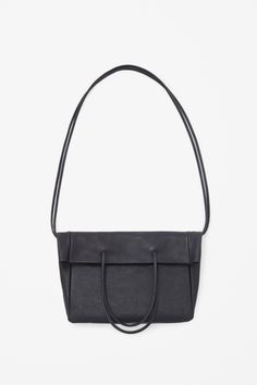Grained leather bag - COS