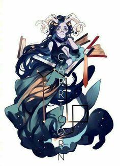 Capricornio - by Inuiikun Zodiac Capricorn, 12 Zodiac, Zodiac Signs, Anime Zodiac, Zodiac Art, Art Anime Fille, Anime Art Girl, Art Zodiaque, Zodiac Characters