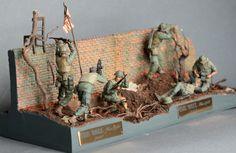 Diorama de Vietnam. Modelismo y diorama militar a escala 1/35