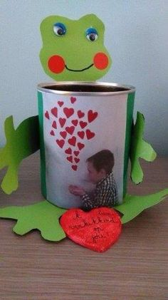 Book Crafts, Fun Crafts, Crafts For Kids, Arts And Crafts, Love You Dad, Child Love, Tea Candles, Fathers Day Crafts, Projects For Kids