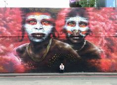 New mural in London by Dale Grimshaw