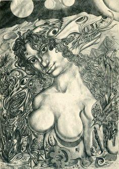 Ernst Fuchs (Austrian, 1930~2015)