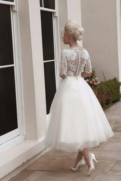 Ballet inspired wedding dress