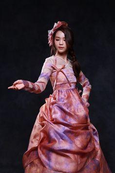 색다른 모습의 한복을 아름답게 소화한 송소희 한복 화보 : 네이버 블로그