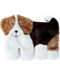 ZippyPaws Squeakie Pup No Stuffing Plush Dog Toy, Beagle: Squeaky Pups are a line of toys that are inspired by your dogs. These playful pups come with 10 large squeakers and 1 Blaster squeaker. Fun for dogs of all sizes. Contains no stuffing. Beagle, Toy Puppies, Cute Puppies, Dog Fetch Toy, Durable Dog Toys, Cat S, Pet Steps, Pet Paws, Dog Toys