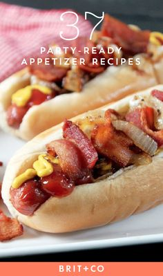 Save this to discover 37 delicious appetizer recipes to score big at your Super Bowl party.