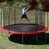 Found it at Wayfair - 15' Trampoline with Safety Enclosure I