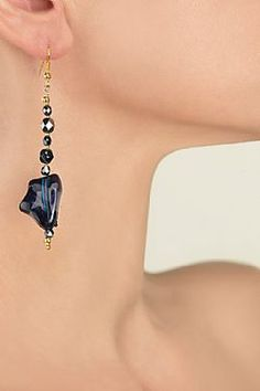 Azur Blues, Drop Earrings, Collection, Jewelry, Fashion, Moda, Jewlery, Jewerly, Fashion Styles