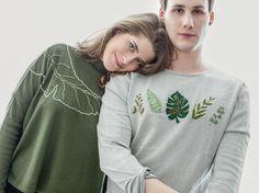 DIY-Anleitung: Shirt mit Bananenblatt besticken via DaWanda.com