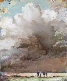 Tuomo Saali, Light Phenomenon, oil on canvas 2011