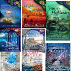 """Daughters of the Glen Series..."" by Melissa Mayhue"