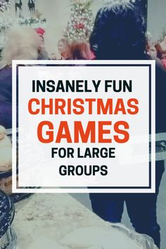 Best Christmas Games If you love to play group games during Christmas, these games are for you. Every year, during the holiday season, I host a Christmas party for the ladies at my church. We enjoy a catered meal, my… Christmas Party Games For Groups, Party Games Group, Fun Christmas Party Games, Large Group Games, Xmas Games, Dinner Party Games, Holiday Games, Christmas Fun, Adult Party Games For Large Groups