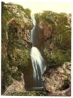 [Dyserth Falls, Rhyl, Wales]  [between ca. 1890 and ca. 1900].