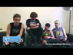 5 Seconds Of Summer Saturday Night Online Ask Anything Chat w/ Romeo 07/... THIS IS ONE OF THE FUNNIER VIDEOS OF THEM I HAVE SEEN....WATCH IT