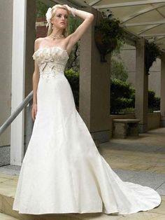 Maxine-Vestido de Noiva em cetim - dresseshop.pt