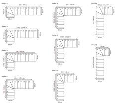 calcul d 39 un escalier quart tournant fabrication escalier. Black Bedroom Furniture Sets. Home Design Ideas