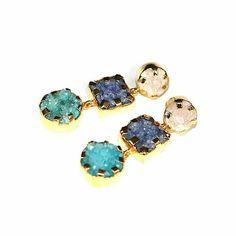 Pendientes Art Mini en un nuevo color ➡www.casildafinatmc.com #earings #pendientes #casildafinatmcjoyas #casildafinatmc #jewel #jewels #joyitas #invitadaperfecta #piedrasnaturales