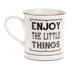 Enjoy the Little Things Mug - Seasons Unlimited