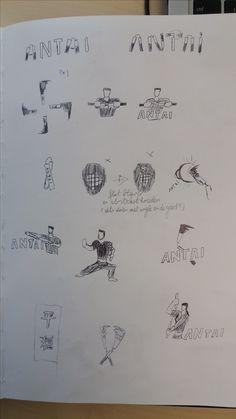1ste Schetsen blad 2