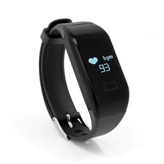 """Mofek Fitness Tracker with Heart Rate Monitor,Waterproof Bluetooth Smart Watch Wristband Smartband Pedometer Tracker - Black. Waterproof IP67, can be used when swimming or shower. Note that the watch support IOS and Android, not Windows, can support iPhone and it is in English. Capture your continuous wrist-based heart rate, with no chest strap required. OLED visualización táctil inteligente diseño, fácil acceso a cada función. App """"HPlus Watch, compatible con Android 4.4 o superior, IOS…"""