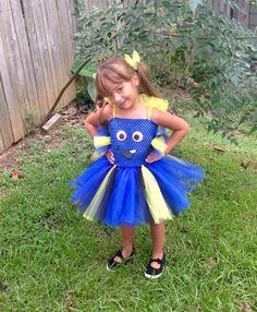 Inspired by Dory Tutu Dress Costume   by AngelinaRoseInspired