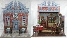 Artfully Musing: GEORGIAN LADIES PARLOR FEATURING A NEW SECRETARY CHIPBOARD KIT , COLLAGE SHEETS & DIGITAL IMAGE SETS