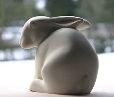 Stone Carving of Hare