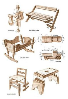 Free Woodcraft Project eBook -