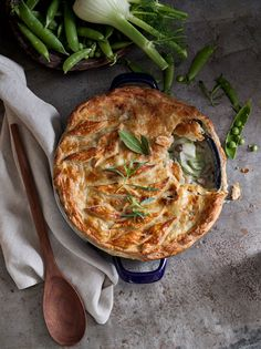 Spring Vegetable Pot Pie from @williamssonoma
