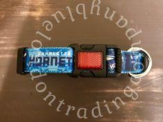 Charlotte Hornets Adjustable Dog Collar~Basketball~NBA~Charlotte~Hornets~Dog Wear~Boutique Dog Wear by BlueLondonTrading on Etsy