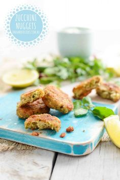You have to try these zucchini nuggets. As silly as it sounds they aren't overly zucchini-y and just melt in the mouth, we couldn't get enough. #onehandedcooks