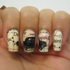 Supernatural Impala Nails!<<< Want these!!!