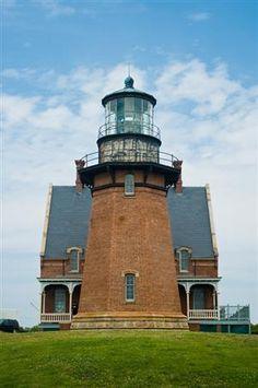 Block Island Southeast Lighthouse, Rhode Island...