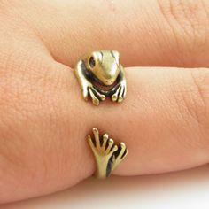 adjustable frog ring