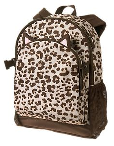 6db05c8a96b9 Accessories Leopard Print Leopard Backpack by Gymboree