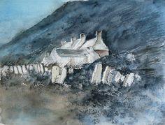 John Blockley - I am a fan of his watercolours. S