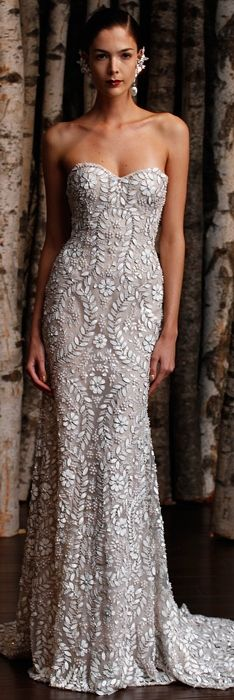 Naeem Khan Spring 2015 Bridal I wouldn't change anything this is dreams!!!