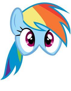 My Little Pony Masks 6 por SimplifyingMom en Etsy My Little Pony Cumpleaños, Fiesta Little Pony, Cumple My Little Pony, Little Pony Cake, My Little Pony Birthday Party, Invitaciones My Little Pony, Anniversaire My Little Pony, Rainbow Dash Party, Little Poni