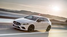 The new Mercedes-Benz A-Class has been revealed, with an evolutionary exterior design, more room, a new interior and a lot of technology. On sale in the UK in March. Mercedes Benz Maybach, Mercedes Benz Models, New Mercedes A Class, Benz A Class, Cars Uk, The Great White, Car In The World, Car Photos, Motor Car