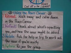 Steps on how to be peaceful when you are upset