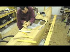 ... of building a strip planked sea kayak. Nick Schade of Guillemot Kayaks