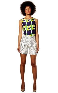African Prints in Fashion: Prints of the Week: Sindiso Khumalo SS13 @Pure Dash