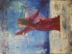 Praise dance by Caren.  Oils